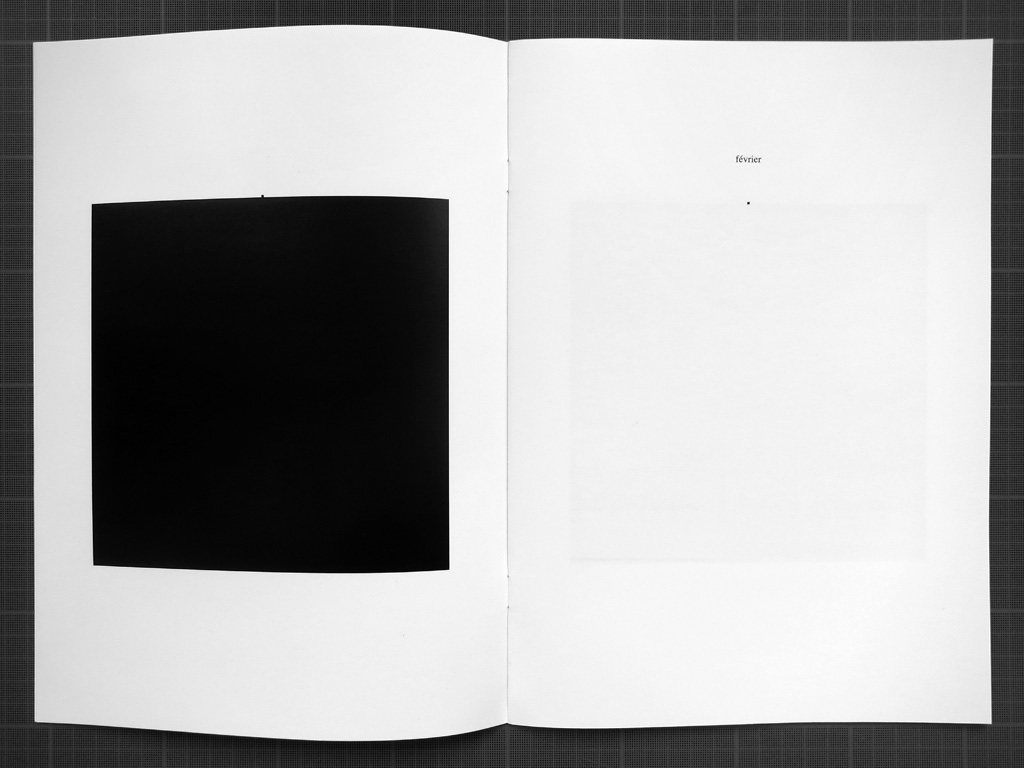 Claude Closky, '2014', 2013, Paris: Galerie Laurent Godin. Offset print, 24 pages, 29,7 x 21 cm.