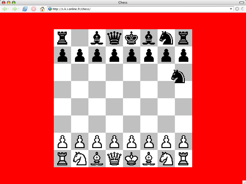 Claude Closky, 'Chess,' 2005, animated Gif, Flash, stereo (http://s.k.i.online.fr/chess).