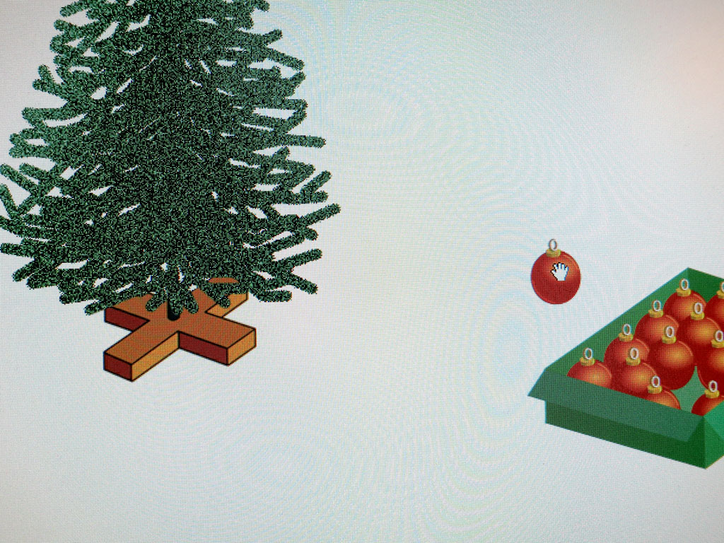 Claude Closky, 'Christmas', 2001, interactive web site, Shockwave, stereo (http://217.174.192.66/~closky).