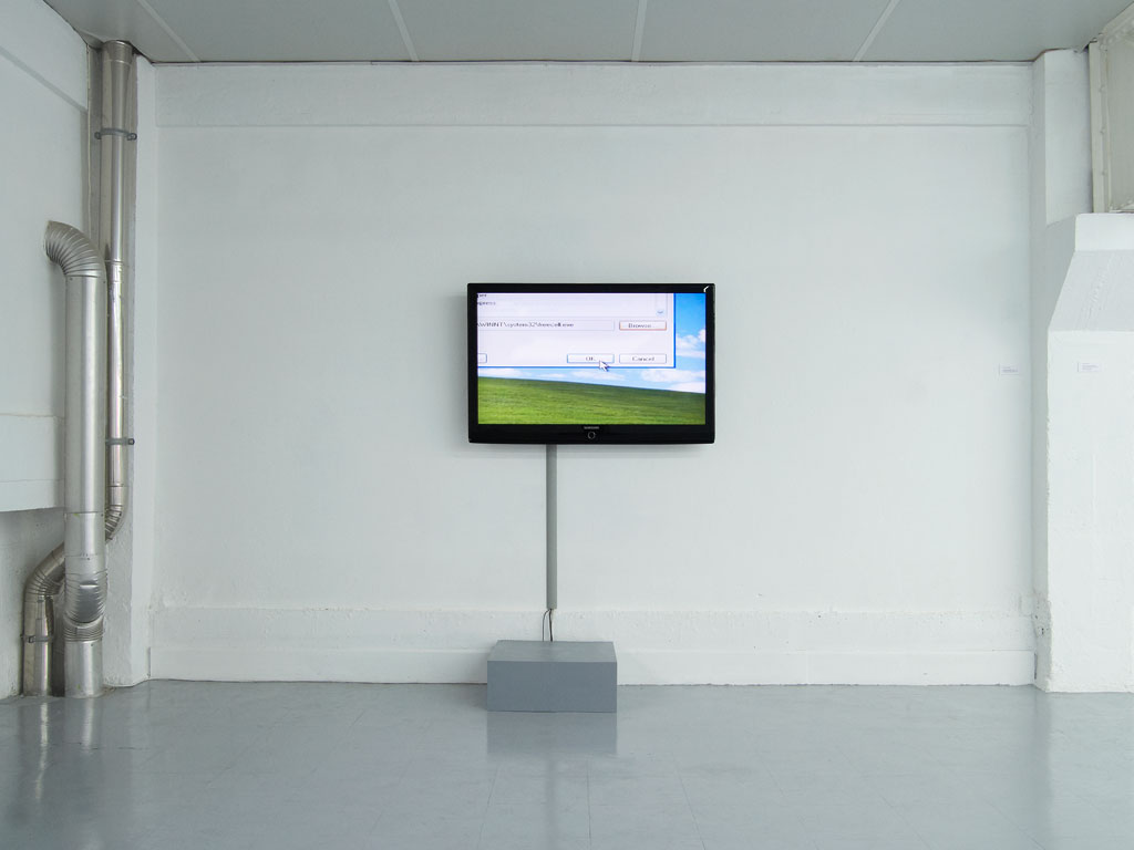 Claude Closky, 'It's Okay', 2006, flat screen, computer, unlimited duration.