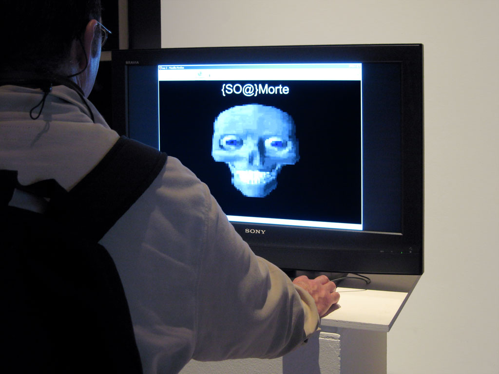 Claude Closky, 'Me 2,' 2007, web site, Php, jpg (http://www.closky.info/myavatar). Installation view 'Second Night (Nuit Blanche in Paris)', Hôtel d'Albret, Paris. 6 October - 6 October 2007. Curated by Daniele Balit, Christophe Bruno