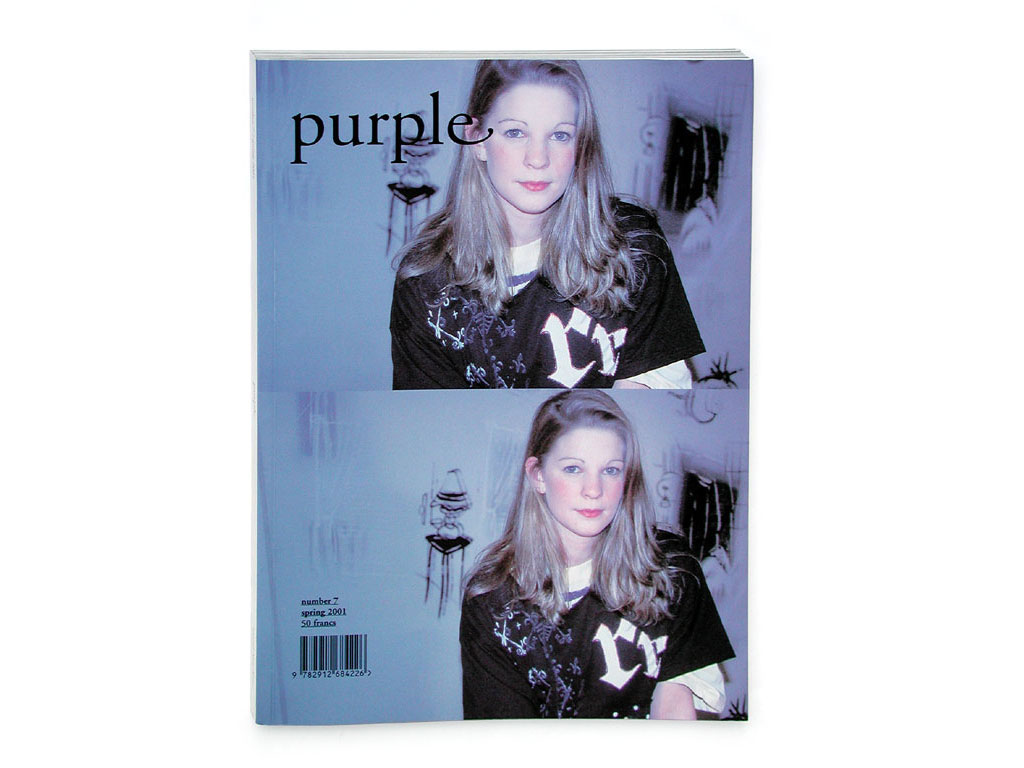 Claude Closky, 'My favorite color: an interview of Florence Bonnefous', 2001, spring, Paris: Purple #7, p. 72. 'My favorite color: an interview of Jean-Philippe Delhomme', 2001, summer, Paris: Purple #8, p. 56. 'My favorite color: an interview of Claude Lévêque', 2001, fall, Paris: Purple #9, p. 68. 'My favorite color: an interview of Annette Messager', 2001, winter, Paris: Purple #10, p. 54. 'My favorite color: an interview of Eric Troncy', 2002, spring, Paris: Purple #11, p. 74. 'My favorite color: an interview of Marie-Claude Beaud', 2002, summer, Paris: Purple #12, p. 56. 'My favorite color: an interview of with Pierre Denan et Frédéric de Lachèze', 2002, fall, Paris: Purple #13, p. 60. 'My favorite color: an interview of Pierre Durieu', 2002, winter, Paris: Purple # 14, p. 60.