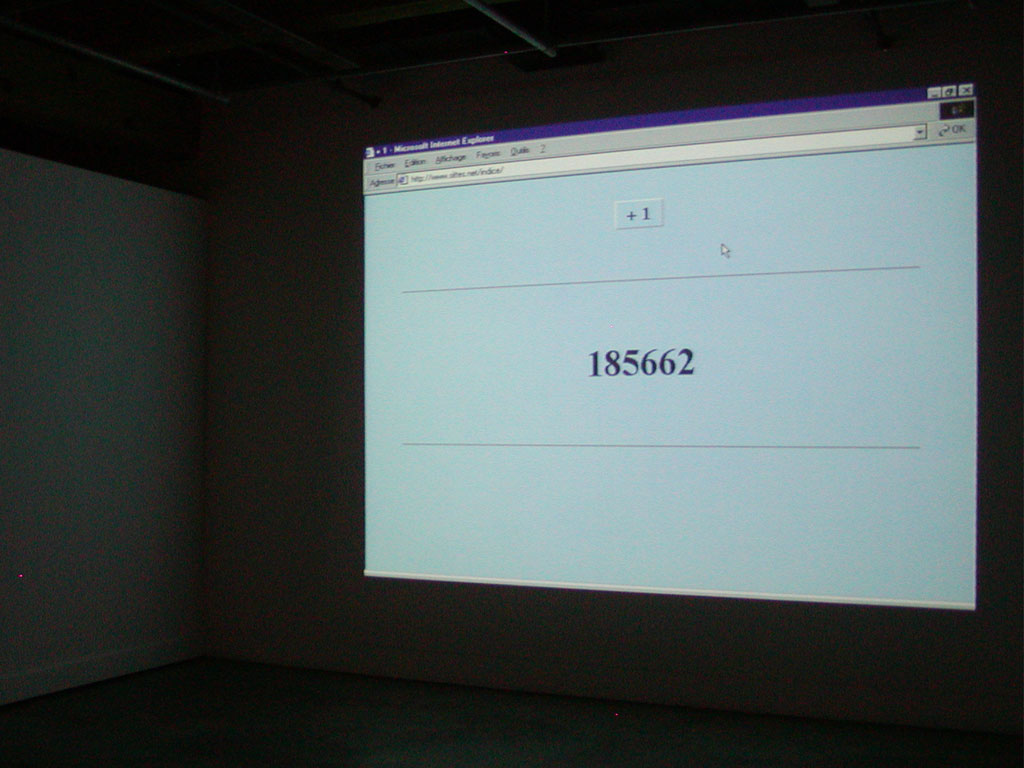 Claude Closky, 'Nouveau Techno', Contemporary Arts Center, New Orleans. 17 July - 19 September 2004. Curated by David S. Rubin.