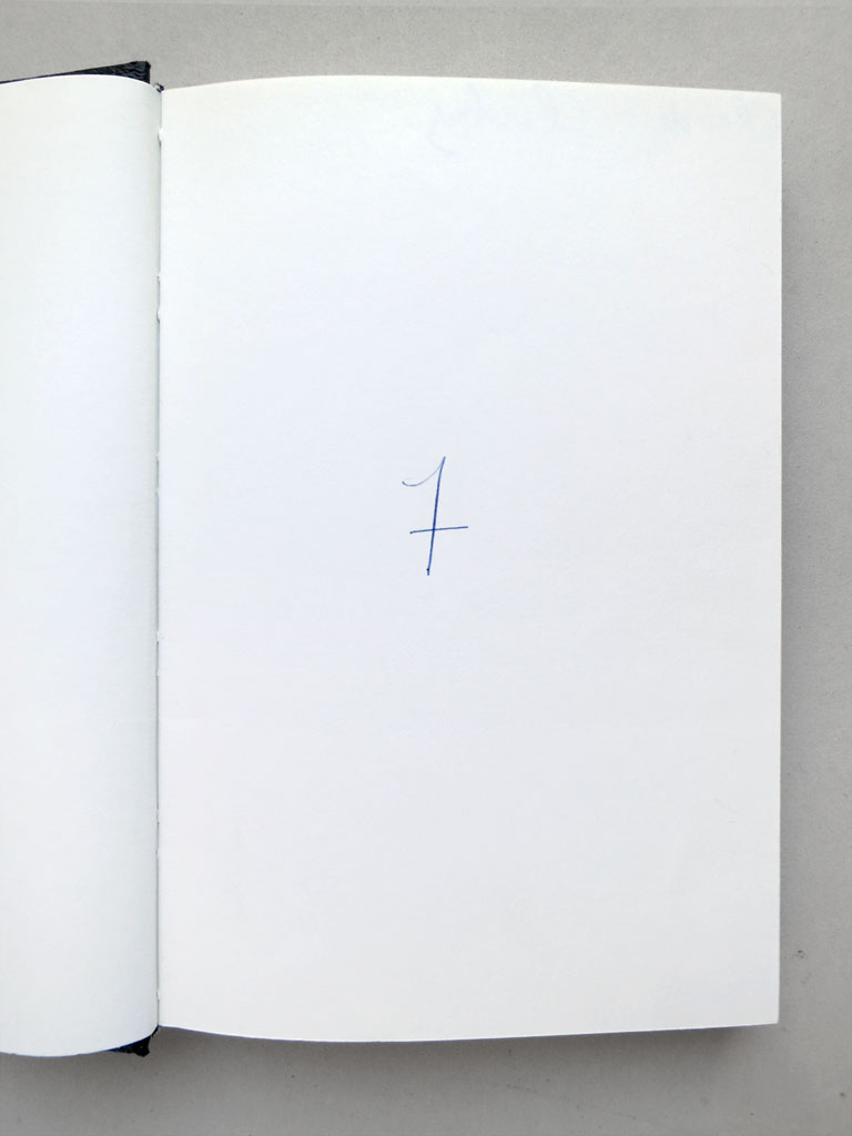 Claude Closky, 'Preferred numbers', 1993, ballpoint pen on sketch pad, 200 pages, 21,5 x 14,5 cm.