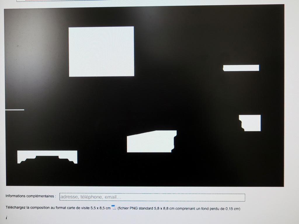 Claude closky under construction rectangular claude closky rectangular 2014 2015 interactive website business cards colourmoves