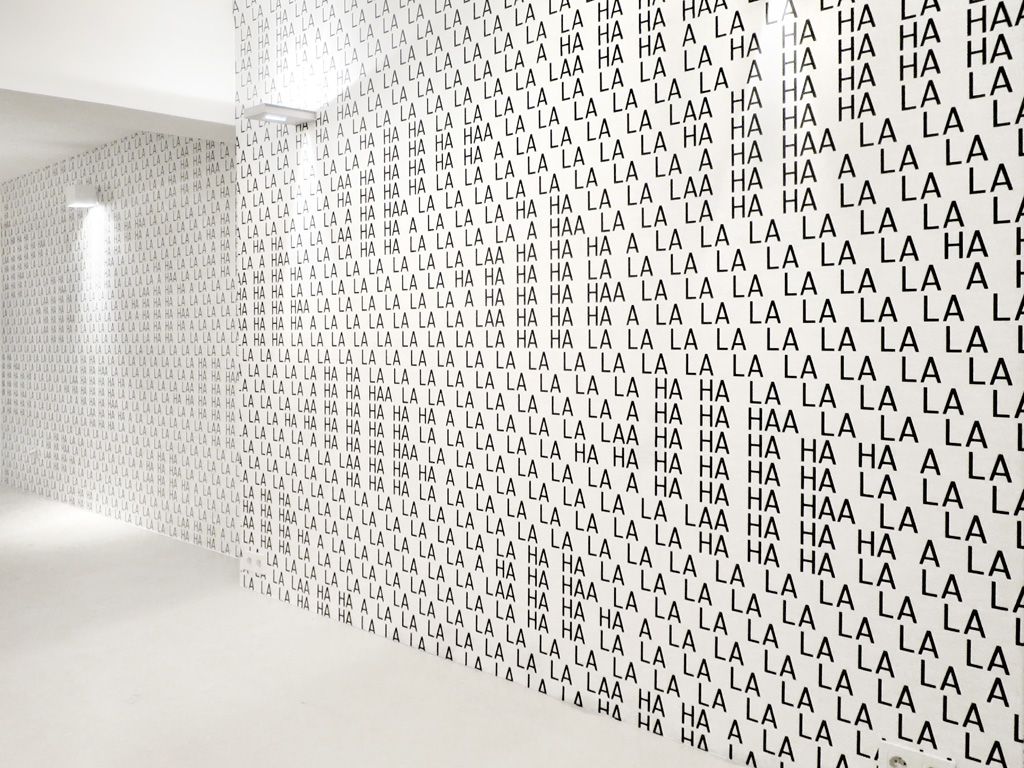 Claude Closky, 'Stairs and Ladders,' 2014-2015, wallpaper, silkscreen print, dimensions variable.