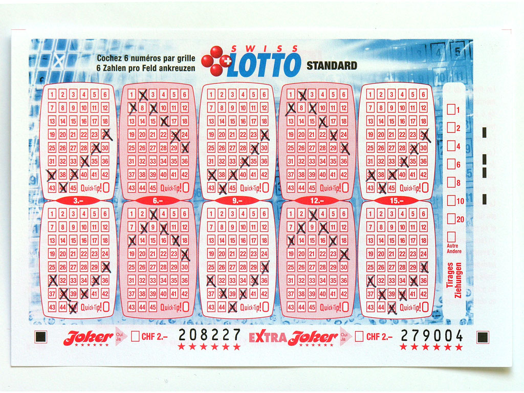 Claude Closky, 'Swiss Lotto Card 208227', 2005, ballpoint pen on printed matter, 11 x 16 cm.