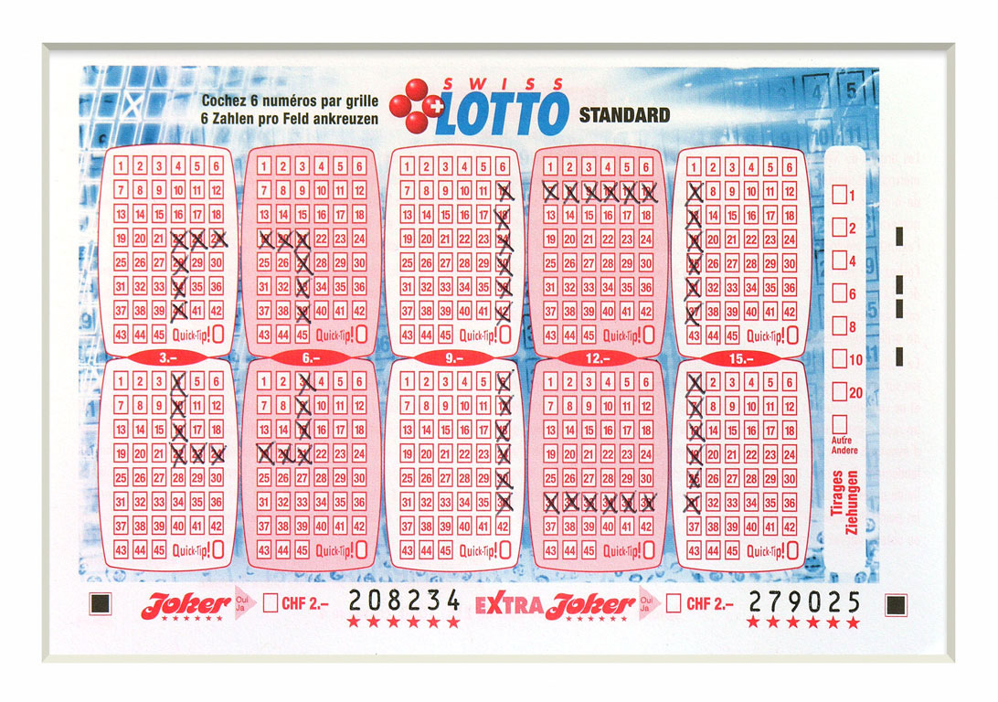 Claude Closky, 'Swiss Lotto Card 208234', 2005, ballpoint pen on printed matter, 11 x 16 cm.