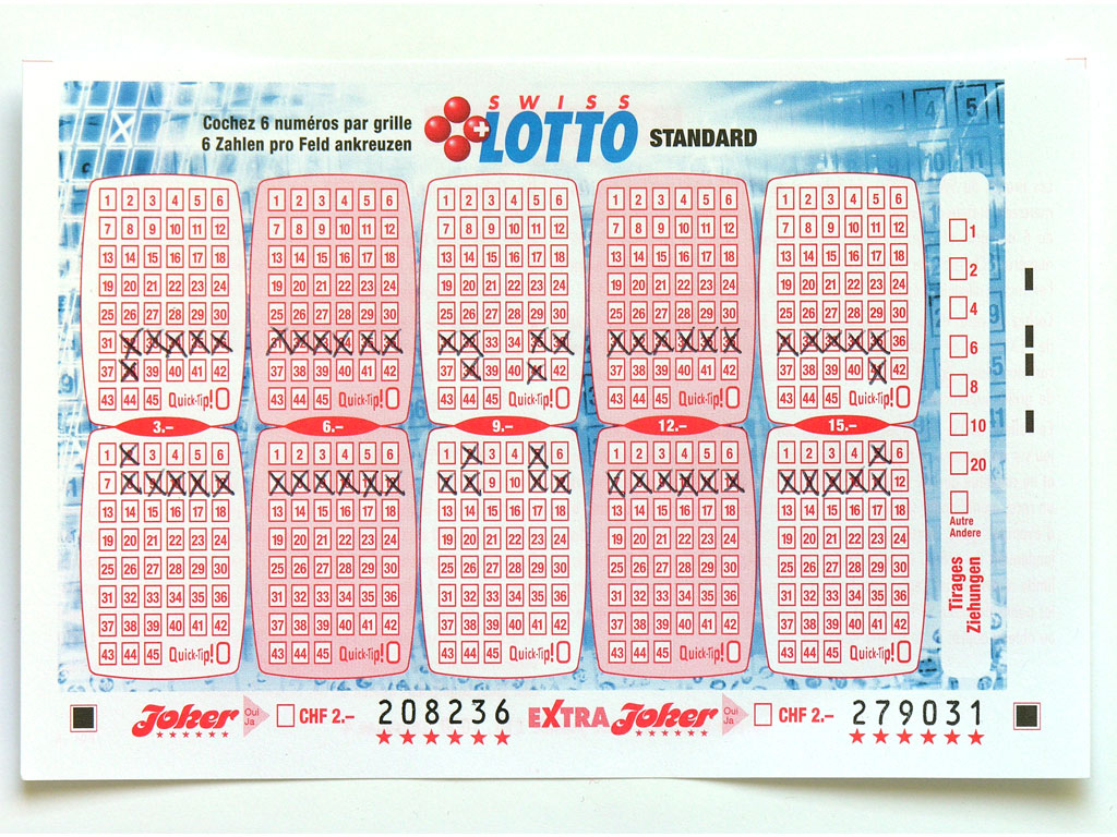 Claude Closky, 'Swiss Lotto Card 208236', 2005, ballpoint pen on printed matter, 11 x 16 cm.