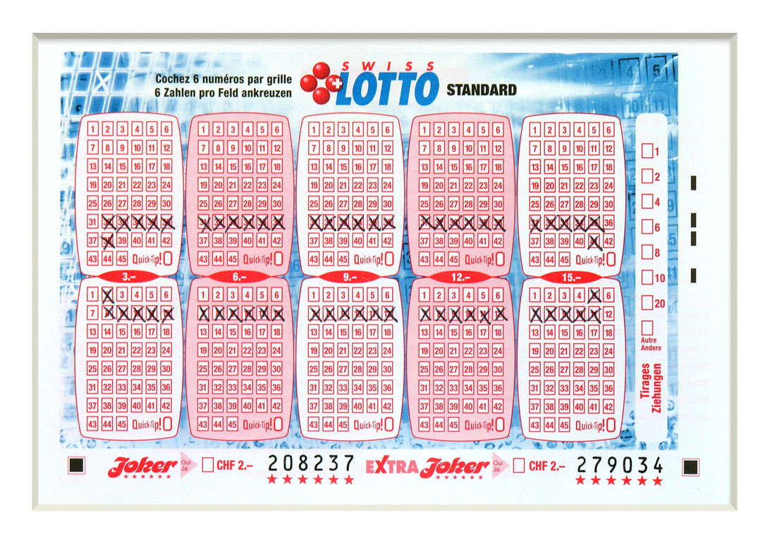 Claude Closky, 'Swiss Lotto Card 208237', 2005, ballpoint pen on printed matter, 11 x 16 cm.