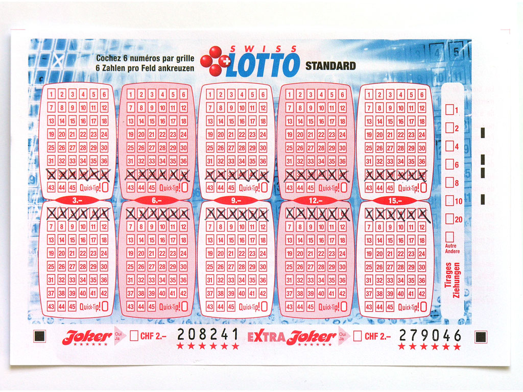Claude Closky, 'Swiss Lotto Card 208241', 2005, ballpoint pen on printed matter, 11 x 16 cm.