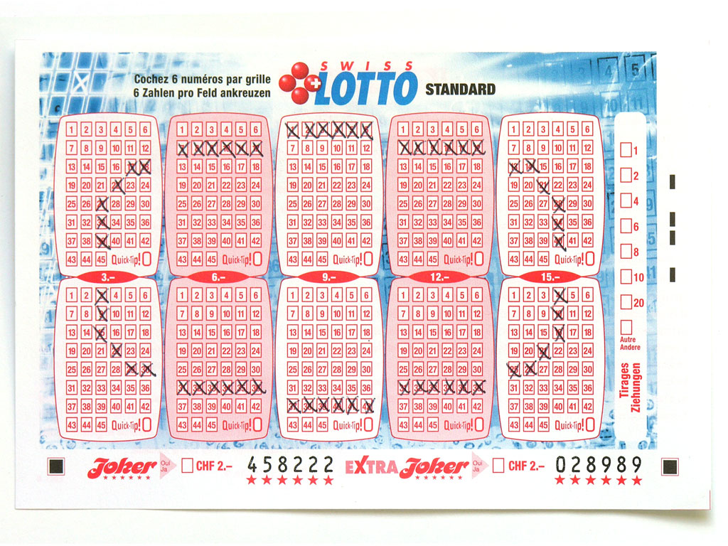 Claude Closky, 'Swiss Lotto Card 458222', 2005, ballpoint pen on printed matter, 11 x 16 cm.