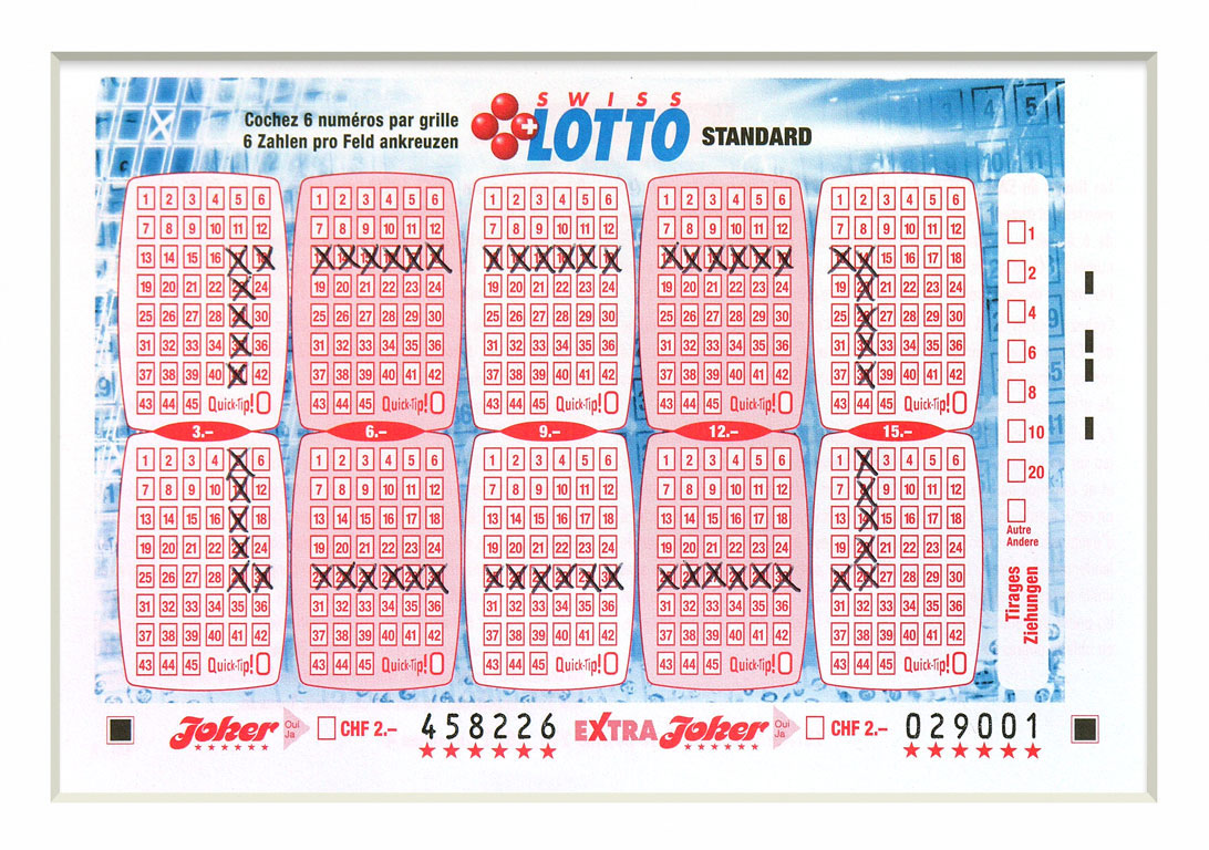 Claude Closky, 'Swiss Lotto Card 458226', 2005, ballpoint pen on printed matter, 11 x 16 cm.
