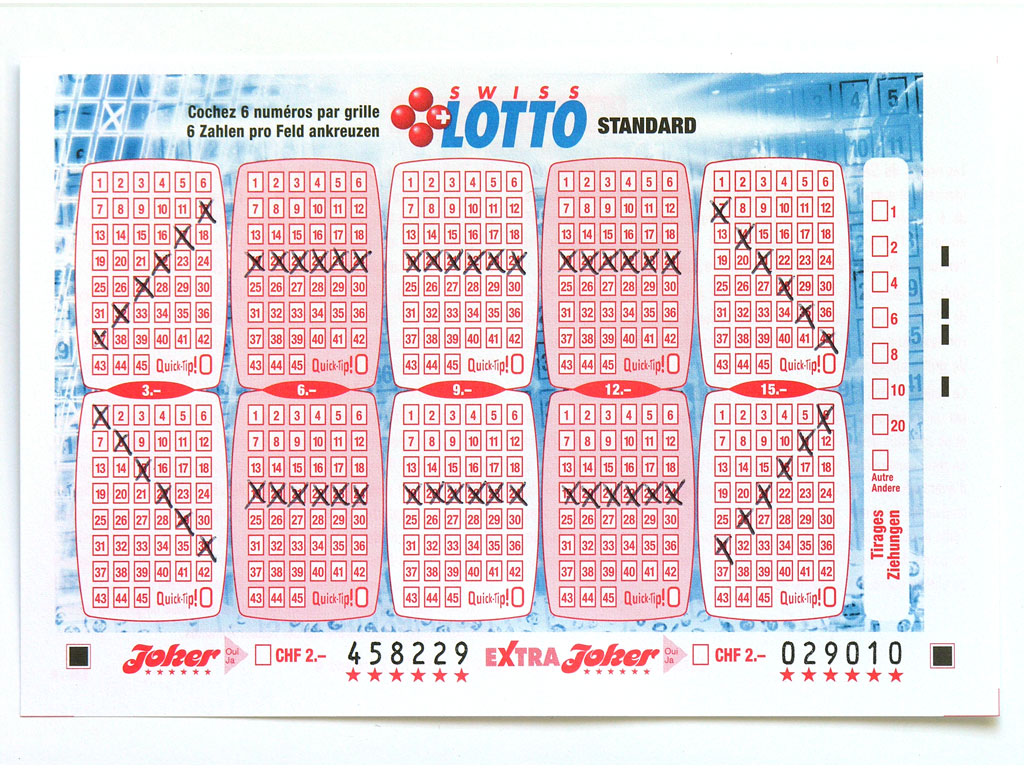 Claude Closky, 'Swiss Lotto Card 458229', 2005, ballpoint pen on printed matter, 11 x 16 cm.