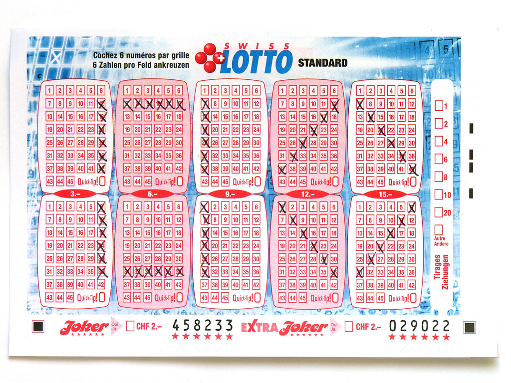 Claude Closky, 'Swiss Lotto Card 458233', 2005, ballpoint pen on printed matter, 11 x 16 cm.