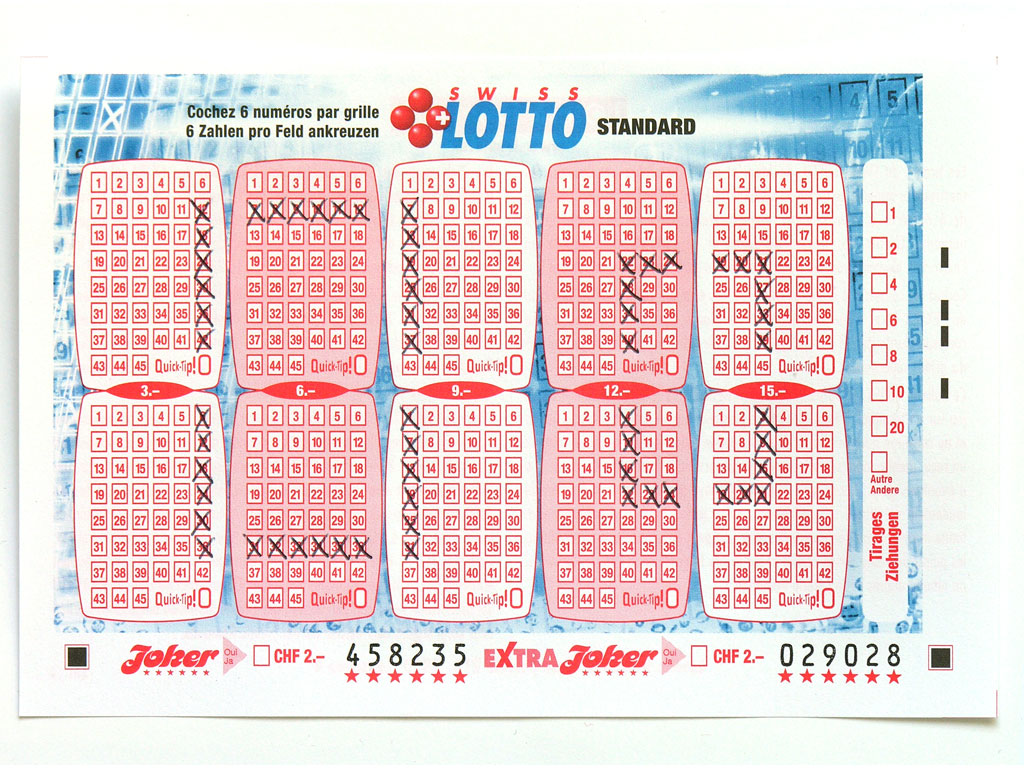 Claude Closky, 'Swiss Lotto Card 458235', 2005, ballpoint pen on printed matter, 11 x 16 cm.