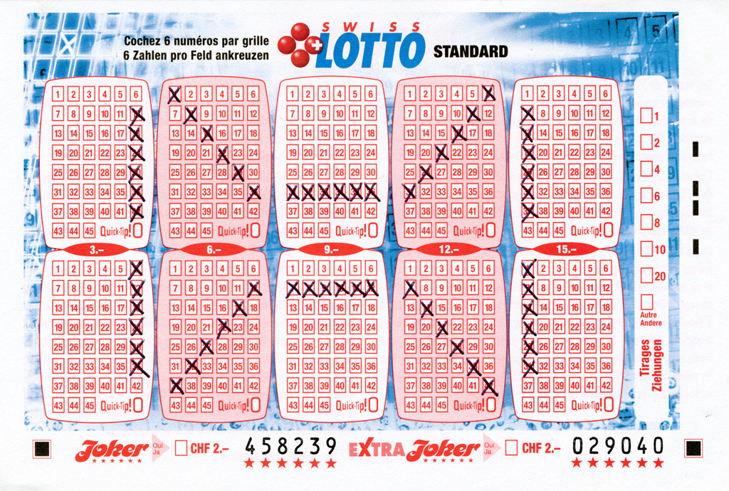 Claude Closky, 'Swiss Lotto Card 458239,' 2005, ballpoint pen on printed matter, 11 x 16 cm.