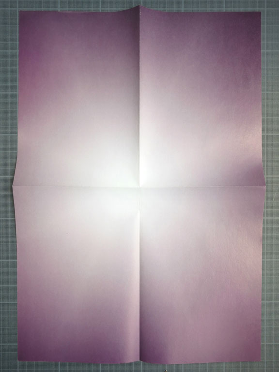 Claude Closky, 'Untitle (Illumination)', 2006-2008, Thiers: Creux de l'Enfer, invitation poster. Color offset print, 42 x 30 cm.