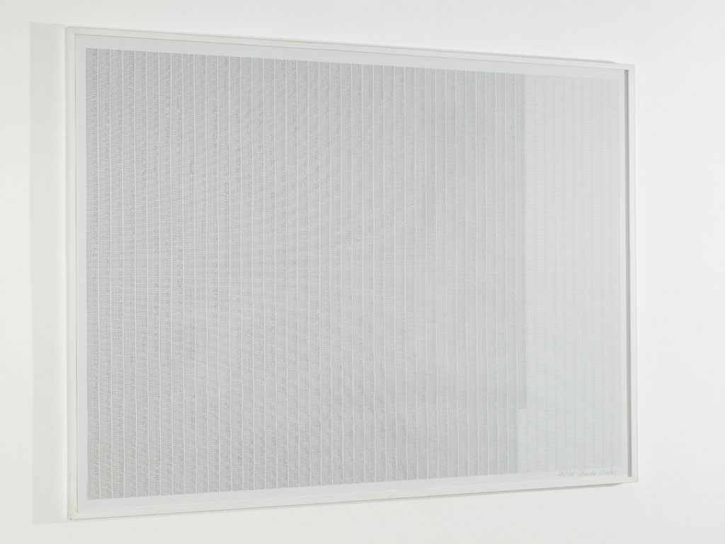 Claude Closky, 'P.I.N.', 2002, Paris: Editions 2-909043, 100 x 140 cm.