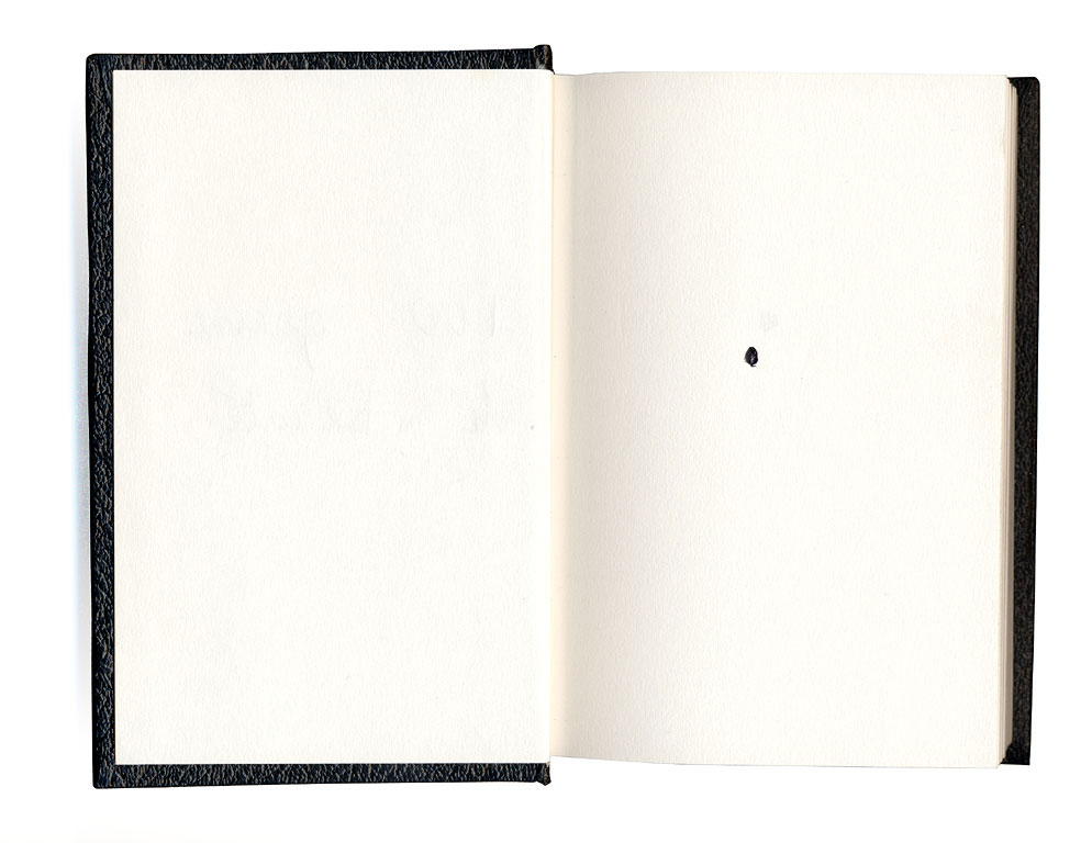 Claude Closky, '100 Beauty Marks', 1992, ballpoint pen on sketch pad, 200 pages, 14 x 9 cm.