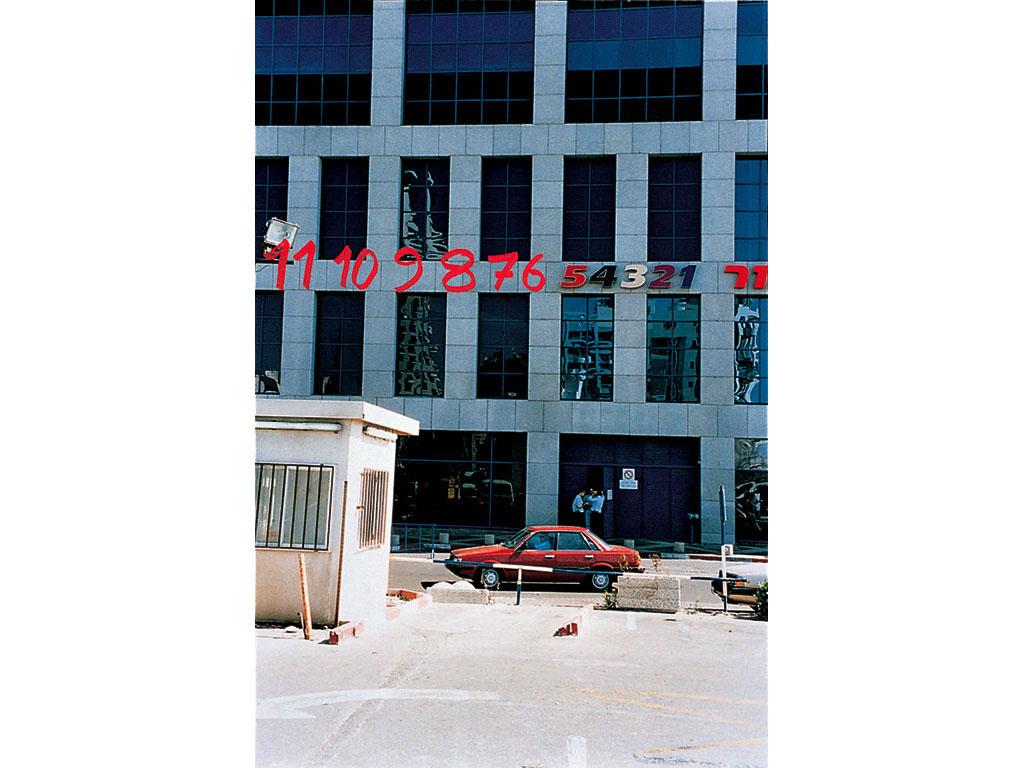 Claude Closky, '11, 10, 9, 8, 7, 6', 1997, c-print, permanent felt-tip pen, 70 x 50 cm.