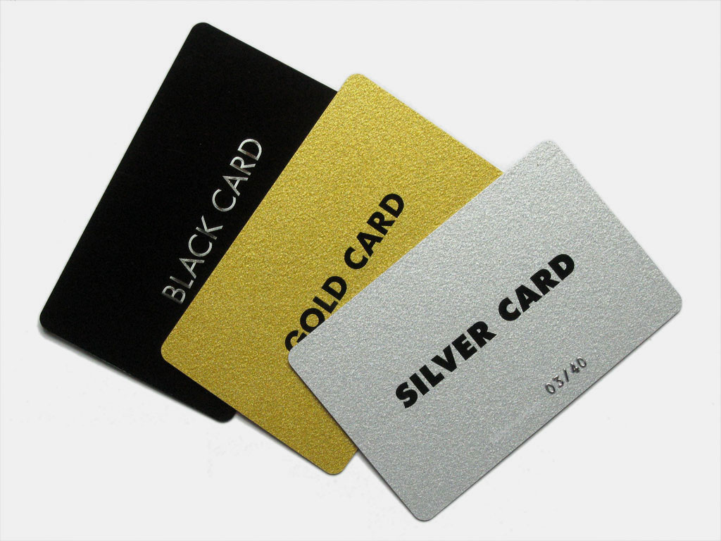 Claude Closky, 'Black Card', 2007, Berlin: Mehdi Chouakri Editions.Silkscreen print, plastic card, 5,4 x 8,5 cm.