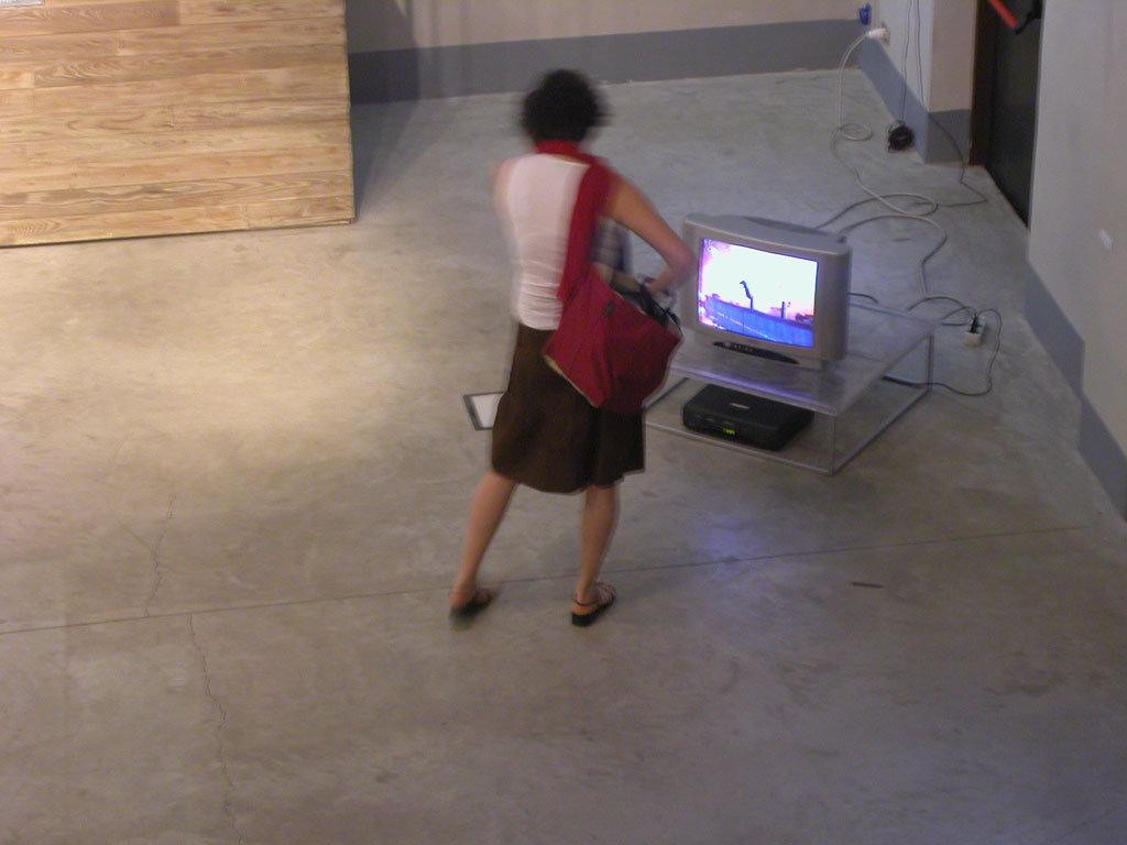 Claude Closky, 'Brrraoumm', 1995, monitor, dvd, dvd player, silent, loop. Coproduction Centre pour l'image contemporaine (s-g,g), Geneva.
