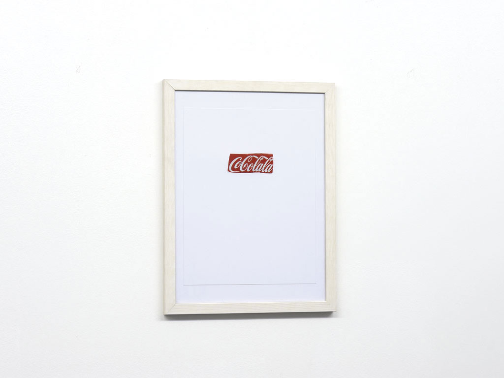 Claude Closky, 'Cocolala', 2006, collage, 32,5 x 25,5 cm.