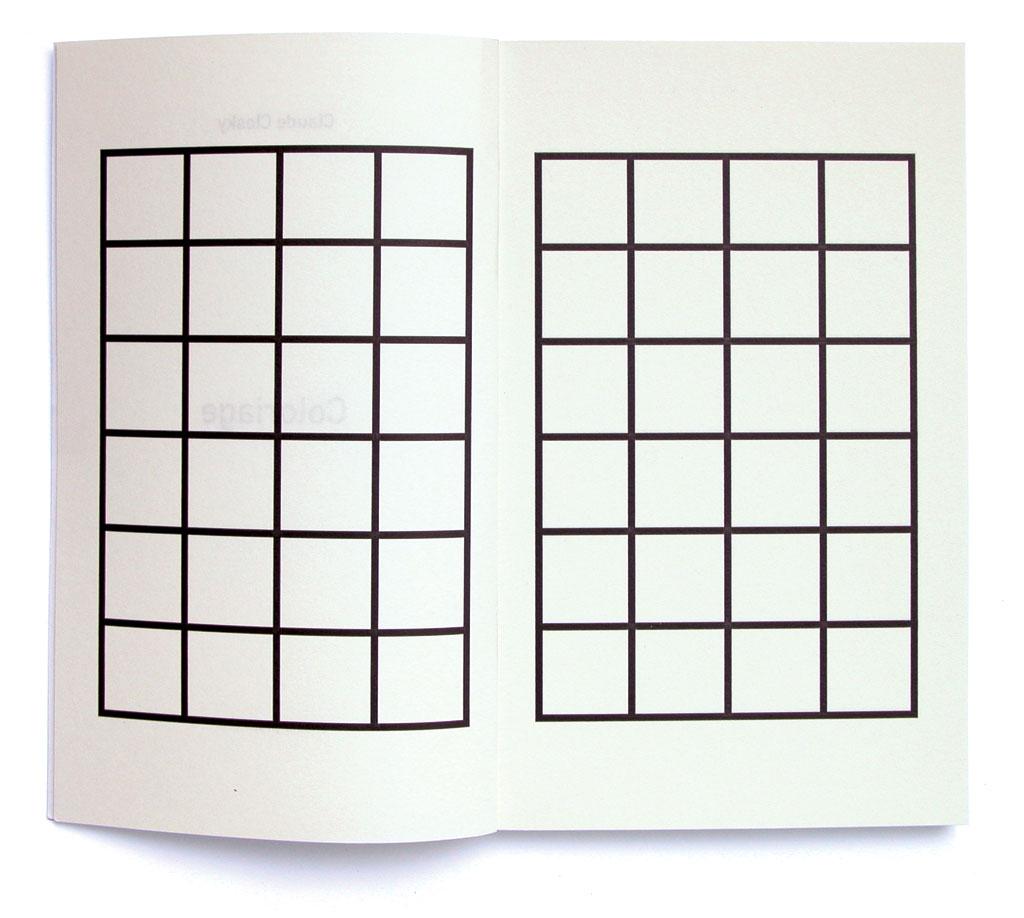 Claude Closky, 'Coloriage [Coloring book]', 2001, Paris: Onestarpress. Color offset, 150 pages, 22 x 16 cm.
