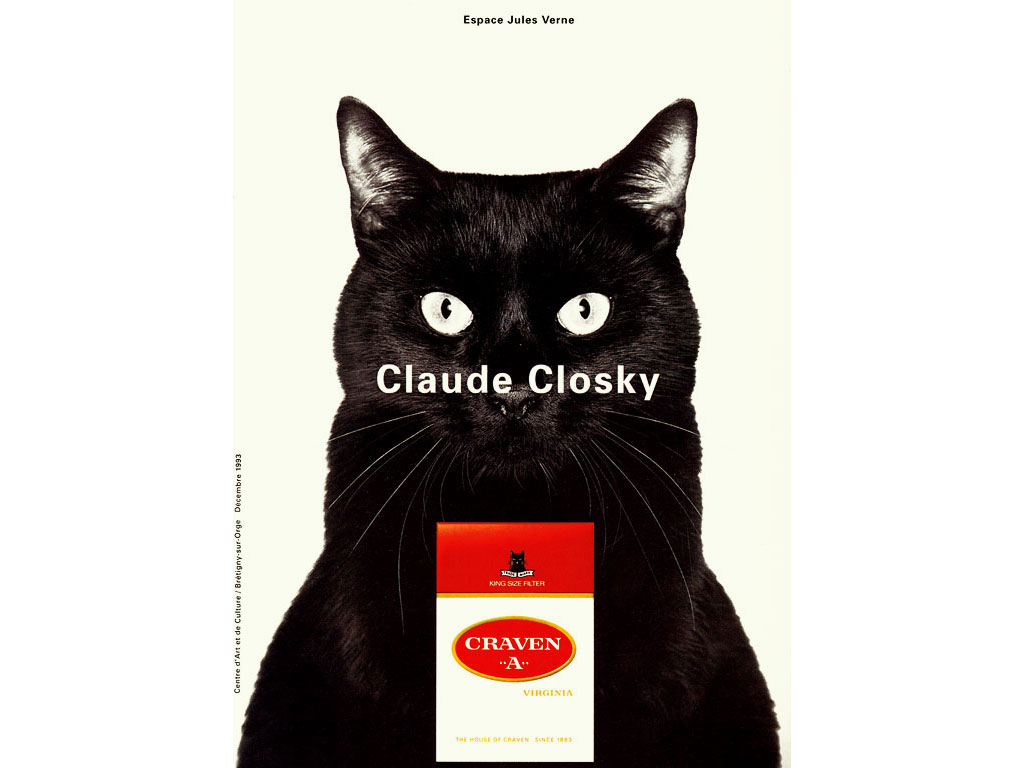 Claude Closky, Craven A, 1993