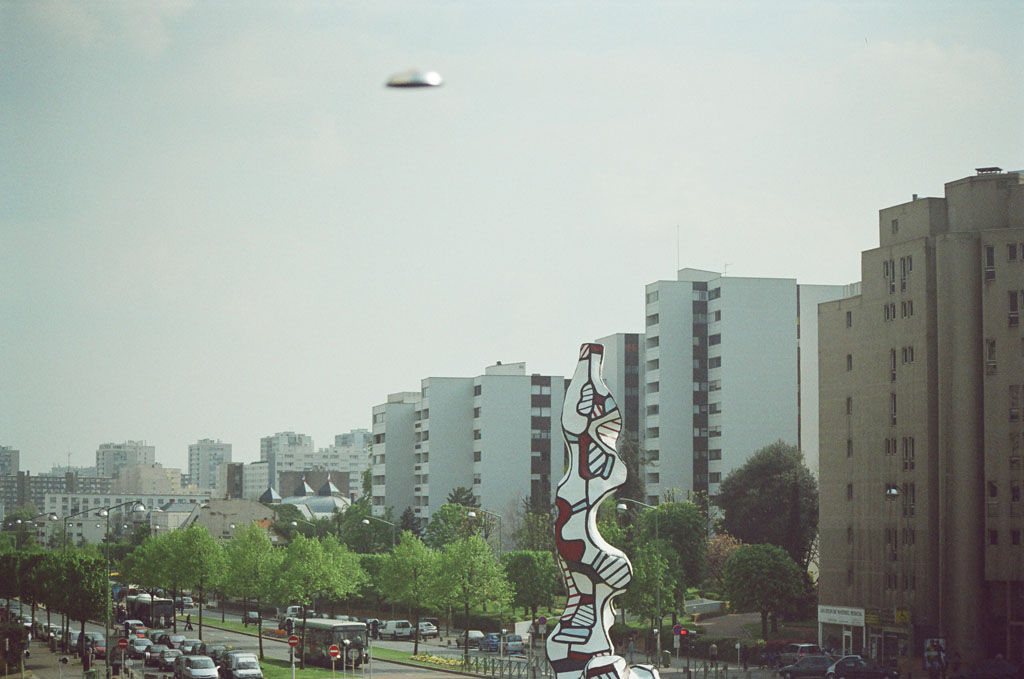 Claude Closky, 'Flying saucer, Dubuffet n°1', 2005, c-print, 20 x 30 cm.