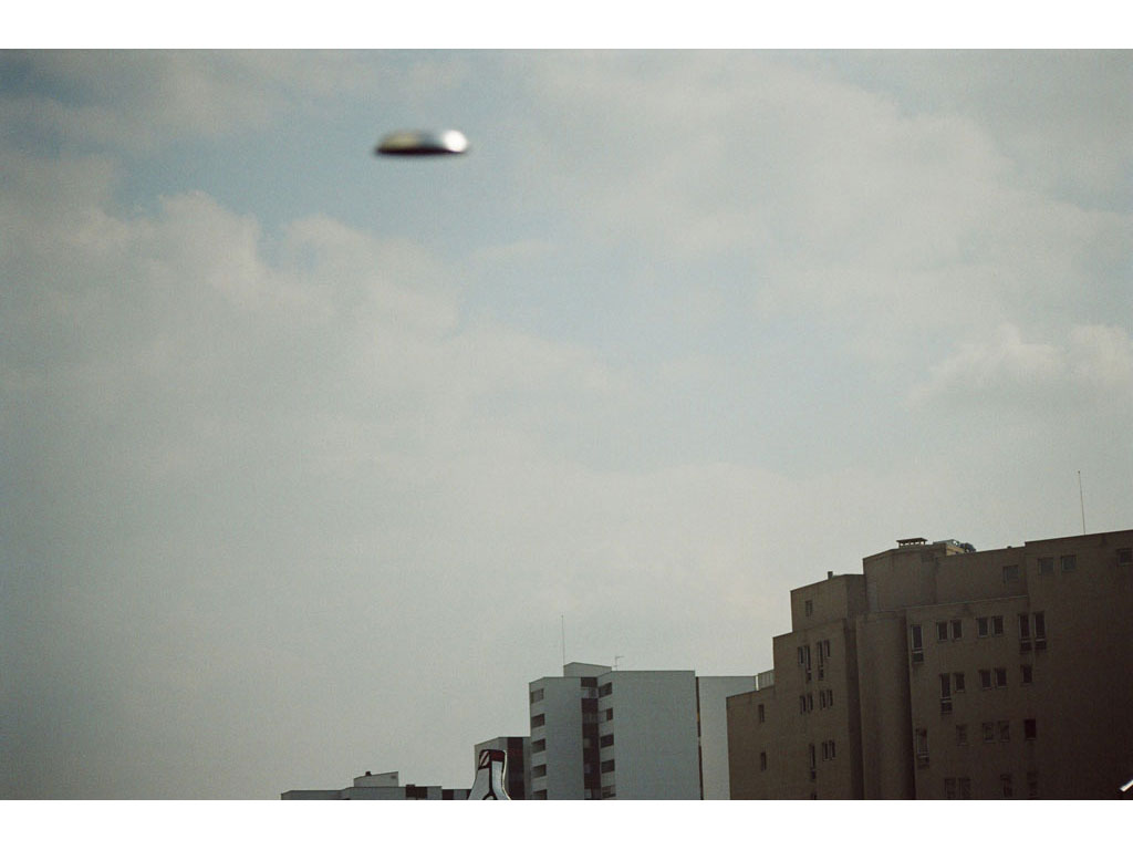 Claude Closky, 'Flying saucer, Dubuffet n°2', 2005, c-print, 20 x 30 cm.
