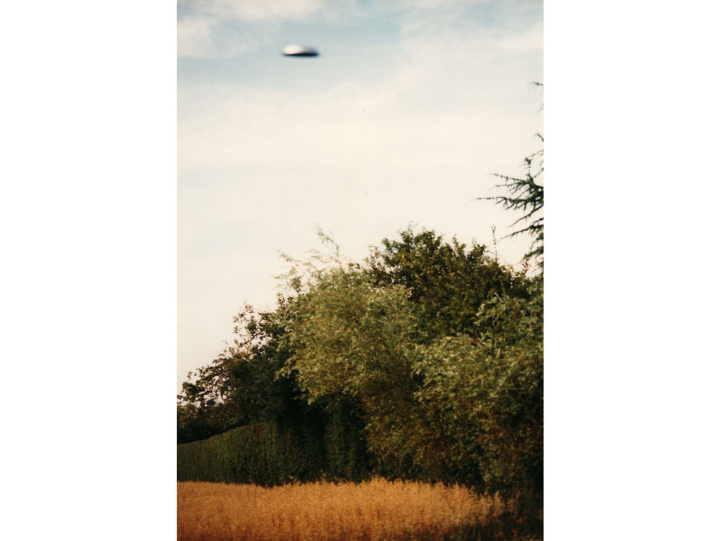 Claude Closky, 'Flying saucer, La Brosse (9)', 1996, c-print, 30 x 20 cm.