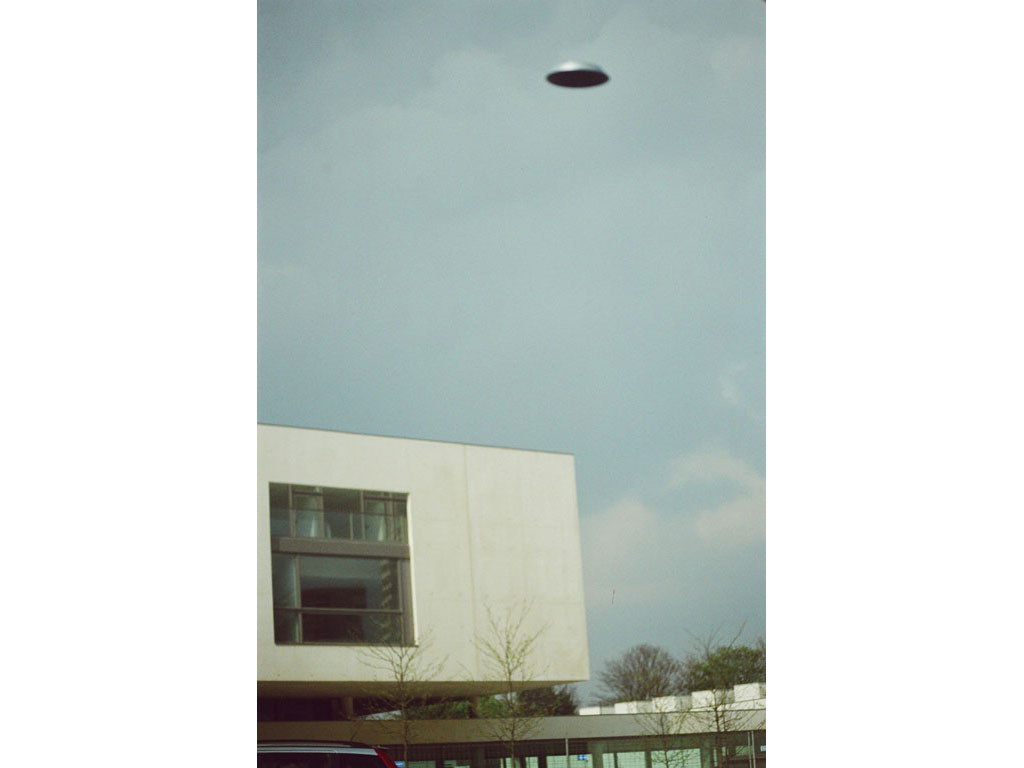Claude Closky, 'Flying saucer, Mac Val n°1', 2005, c-print, 30 x 20 cm.