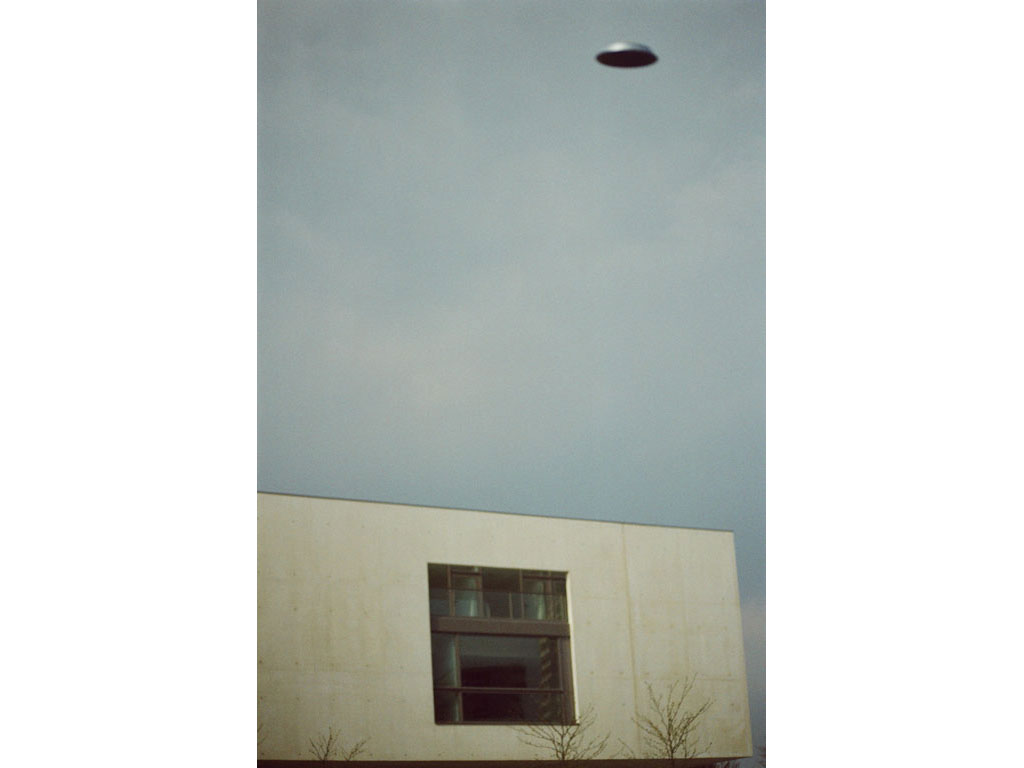 Claude Closky, 'Flying saucer, Mac Val n°2', 2005, c-print, 30 x 20 cm.