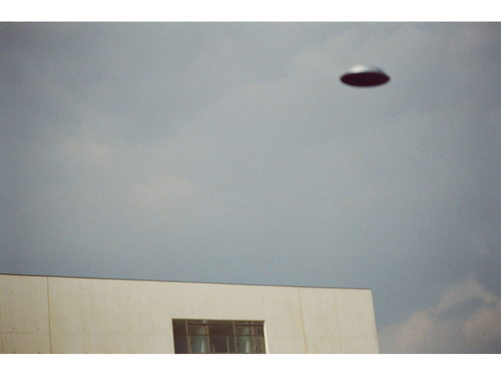 Claude Closky, 'Flying saucer, Mac Val n°3', 2005, c-print, 20 x 30 cm.