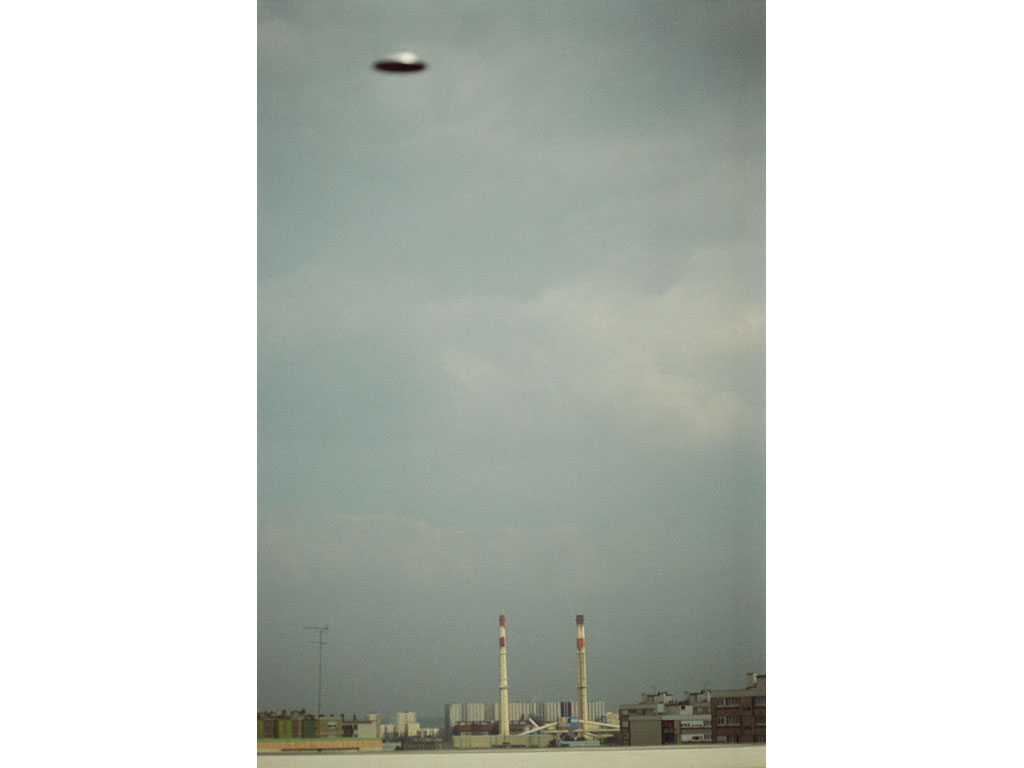 Claude Closky, 'Flying saucer, Vitry n°4', 2005, c-print, 30 x 20 cm.