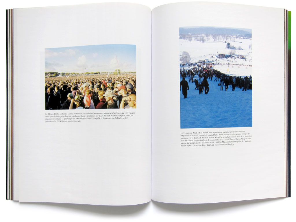 Claude Closky, 'Maison Martin Margiela in Summer and in Winter,' 2009, spring-summer. Paris: Traffic 5, p. 76-83.
