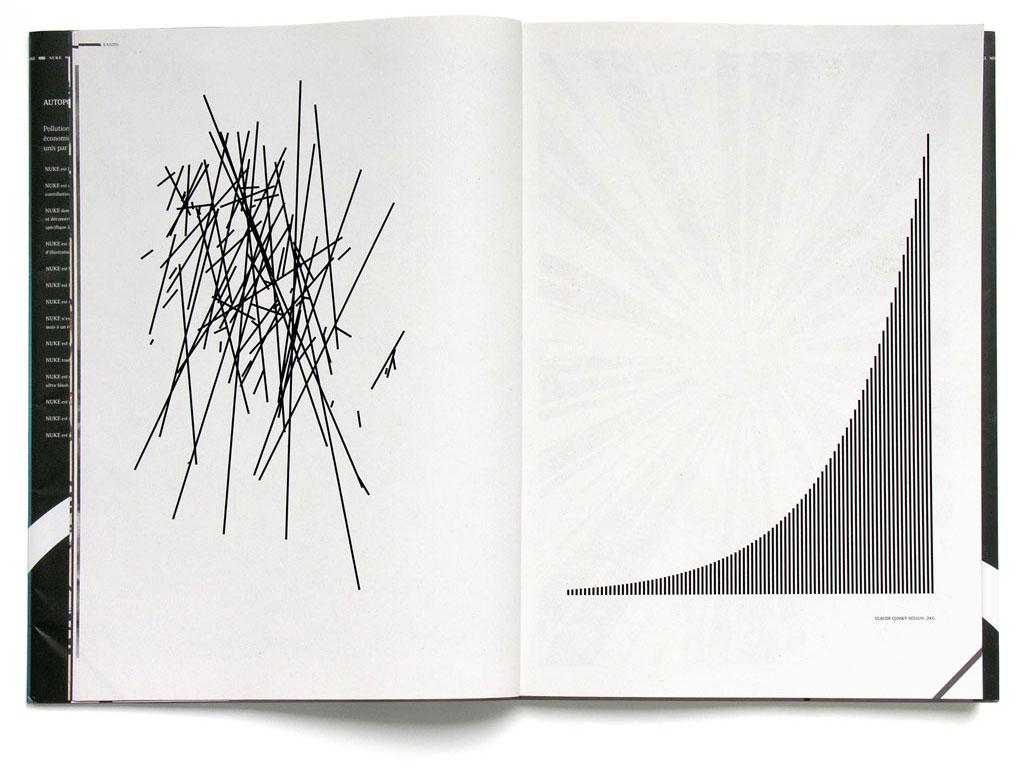 Claude Closky, 'Mission', 2005, Nuke, #2, November 2005, pp. 10-11.