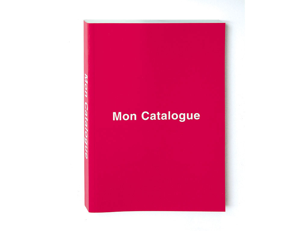 Claude Closky, 'Mon Catalogue [my catalogue]', 1999, Limoges: Frac Limousin, 288 pages, 21 x 15 cm.