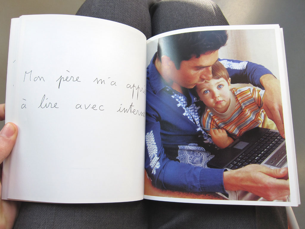 Claude Closky, 'Mon père [My Father]', 2002, Paris: M19, 80 pages, 20 x 17 cm.