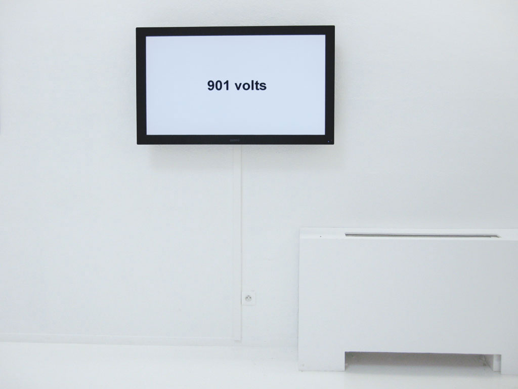 Claude Closky, 'More', 2009, flat screen, computer, unlimited duration.