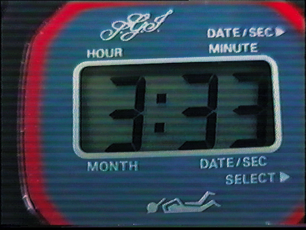 Claude Closky, 'My 20 Favorite Minutes', 1993, monitor, dvd, dvd player, silent, 20 minutes.