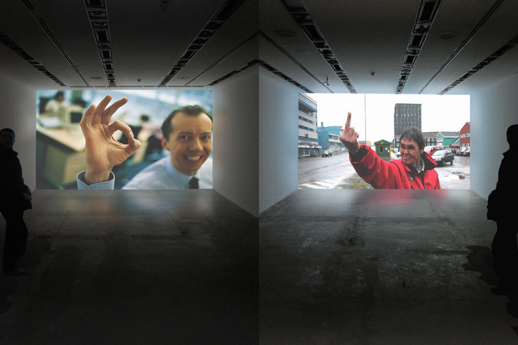 Claude Closky, 'No Choice', 2009, two opposite channel projections, computer, unlimited duration.