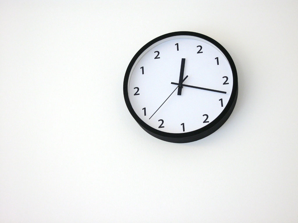 Claude Closky, 'One Two One Two,' 2008, clock, 4 cm, ø 25 cm.