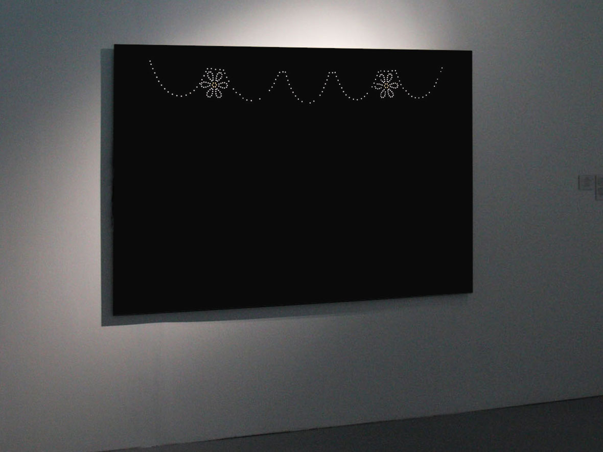 Claude Closky, 'Palaiseau', 2000-2001, C-Print (Kodak RA4) mounted on aluminum, diasec, 150 x 225 cm. 'Les Nuits Electriques', Multimedia Complex of Actual arts (MCAA), Moscow. 9 December 2010 - 27 February 2011. Curated by Olga Sviblova, Philippe Alain Michaud