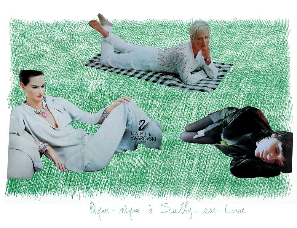 Sully Sur Loire Foot 'picnic at Sully-sur-loire 2'