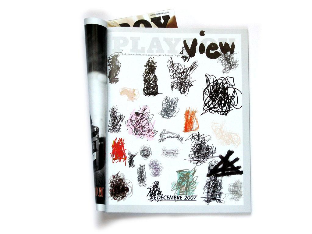 Claude Closky, 'Playboy', 2007, December, Paris: Playboy Magazine # 89, p. 31.