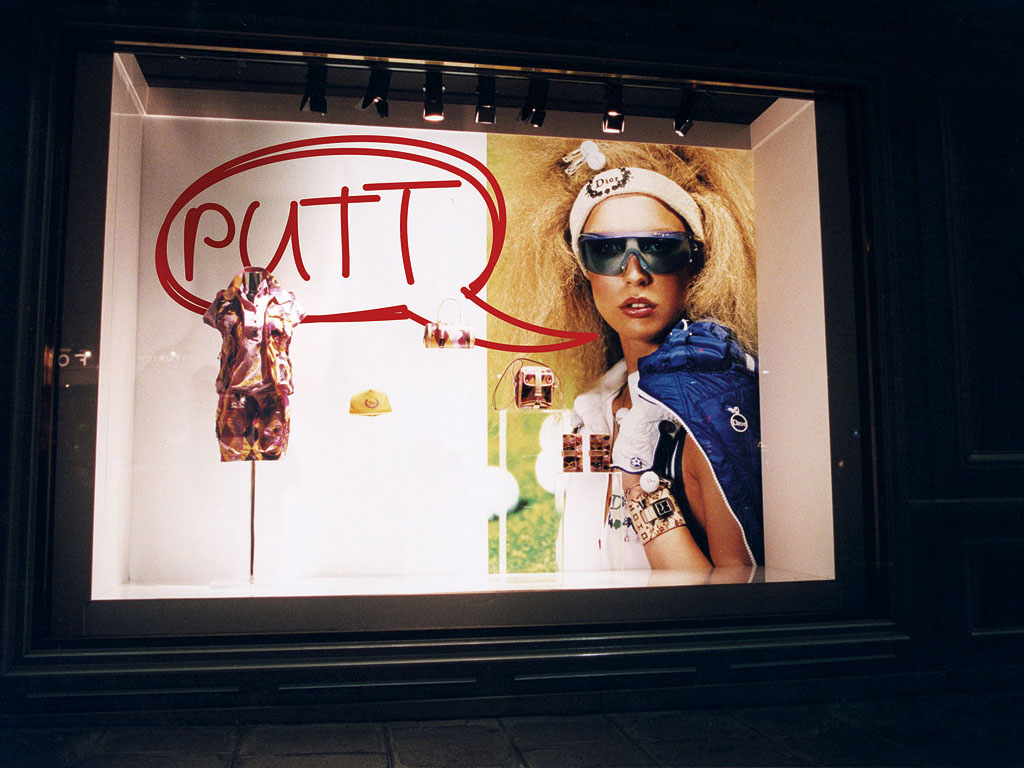 Claude Closky, 'Teee', 2004, windows for Christian Dior boutique worldwide, dimensions variable.
