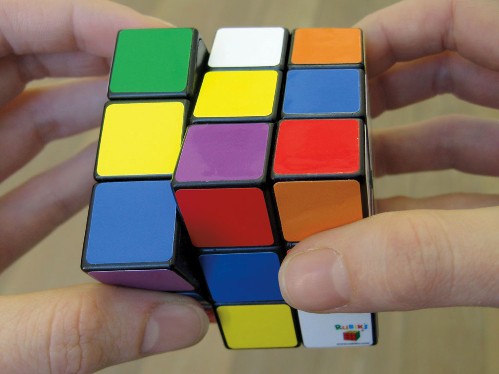 Claude Closky, '7 Color Rubik's Cube,' 2007, Paris: Colette, 55 x 55 x 55 mm.